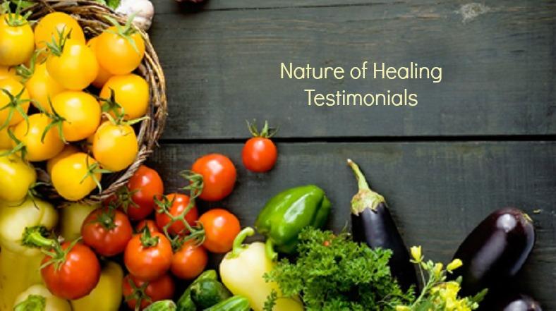 nature of healing testimonials