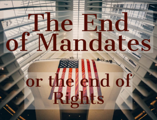 The End of Mandates